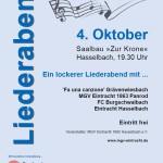 Freunde musizieren • 04.10.2014