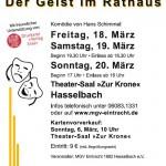 Hasselbacher Theaterabende 2016 - Der Geist im Rathaus